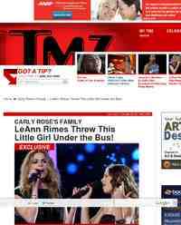 Carly Rose Family LeAnn Rimes Threw: TMZ.com